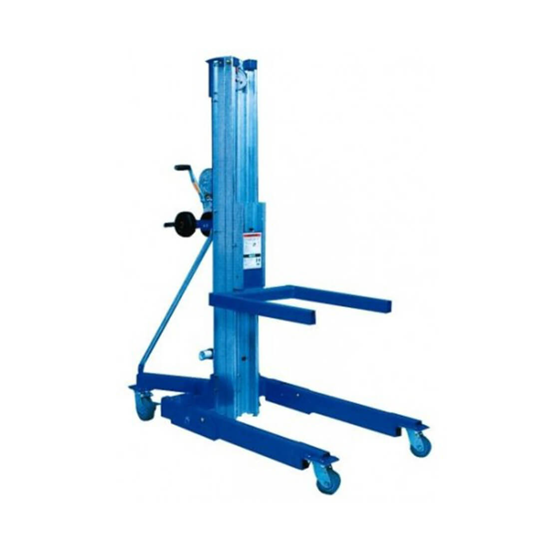 Alquiler de elevador manual de material 6 50m 363 kg for Maquinas de aire acondicionado baratas