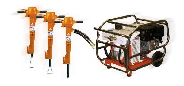 Alquiler-martillo hidraulico