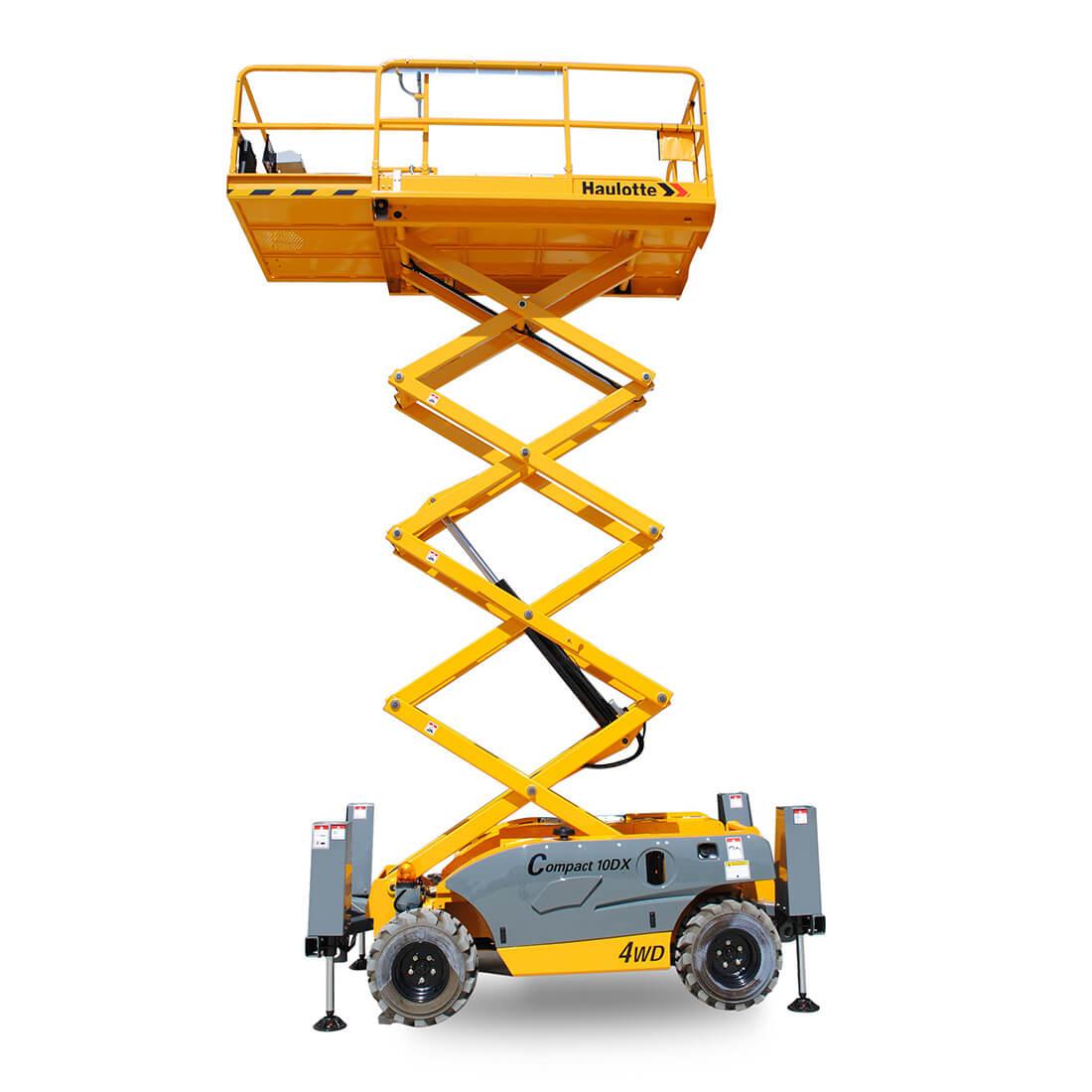 alquiler de plataforma elevadora de tijera diesel 14 50 m