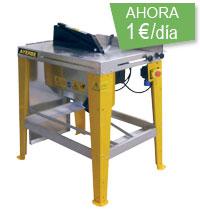tronzadora  de madera 1€/dia