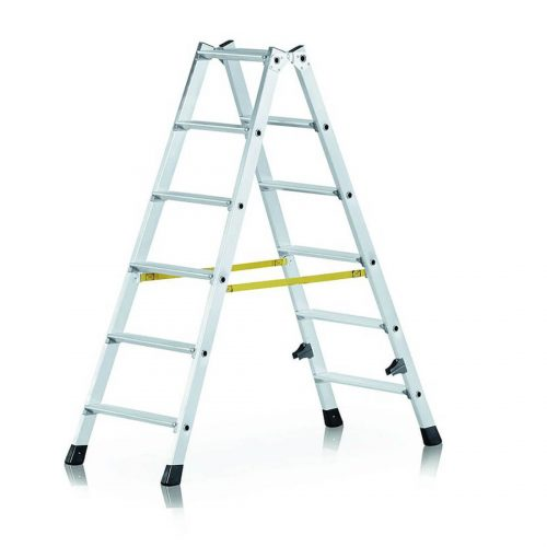 Alquiler-Escaleras tijera bilateral y extensible