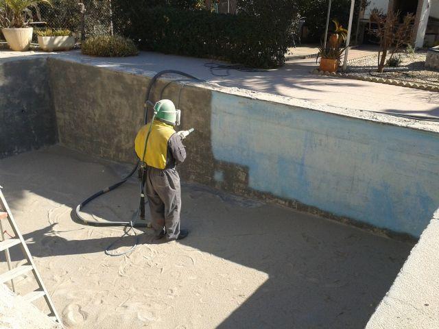 Alquiler de arenador equipo chorro de arena