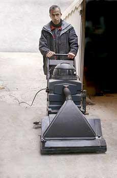 Alquiler de barredora fregadora