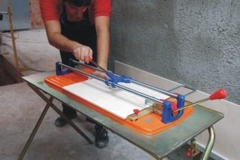 Cortadora de ceramica manual