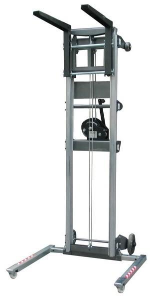 Alquiler de elevador manual de material