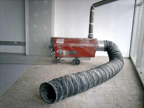 Generador aire caliente