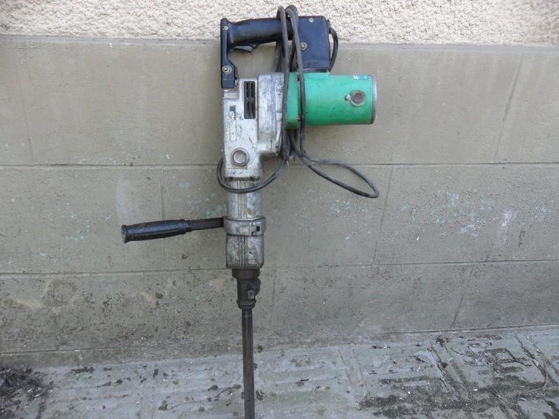 Alquiler de martillo picador Hitachi 9,5 Kg