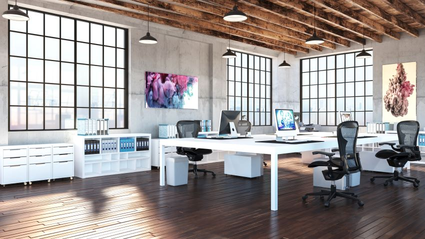 parquet oficinas