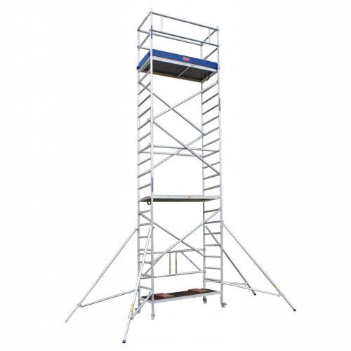 Alquiler de andamios, torres de aluminio móviles y escaleras