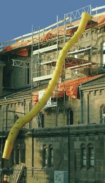 Alquiler de tubo bajante de runa