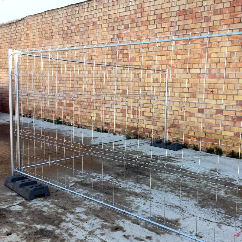 Alquiler de valla de obra galvanizada