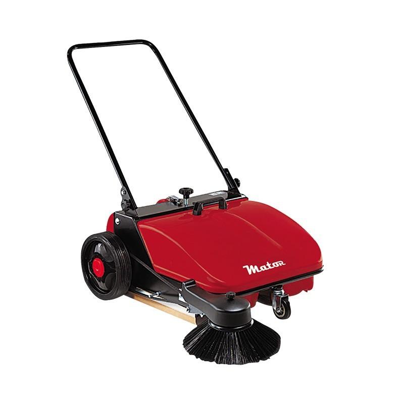 alquiler de barredora de suelos manual ancho 650mm