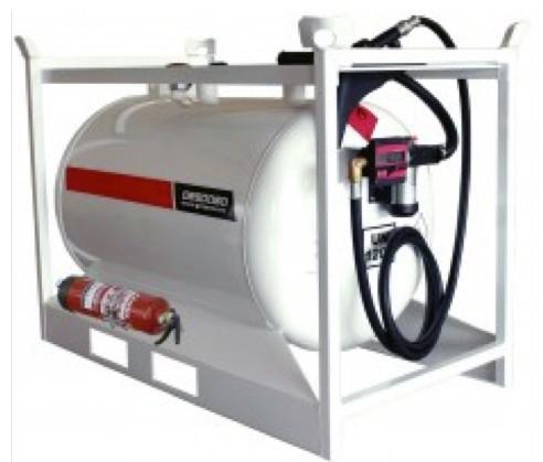 Alquiler-Depósitos de gasóleo y gasolina 460L con bomba
