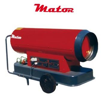 Alquiler-Generador de aire caliente a gasóleo, sin chimenea, 40 KW, 230v