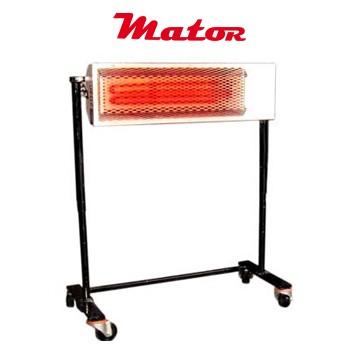 Alquiler-Estufa de infrarrojos eléctrica, 2kW, 230v