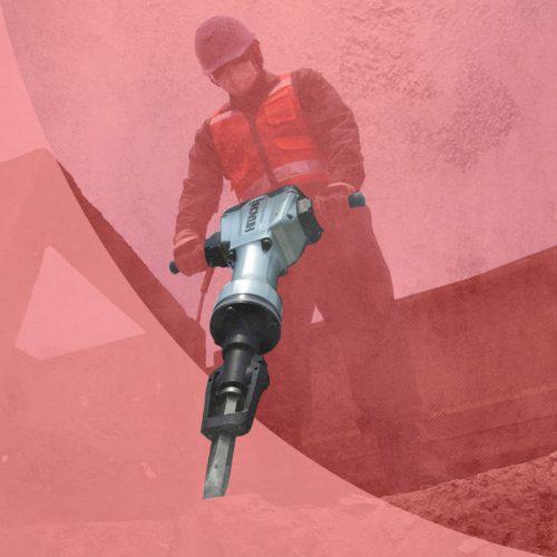 Alquiler de martillos eléctricos demoledores, perforadores, picadores y taladros