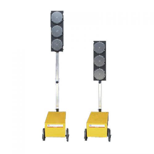 alquiler de semáforo portátil de obra